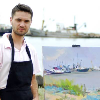 Modern Ukrainian painter Pysar Yurii. Buy paintings