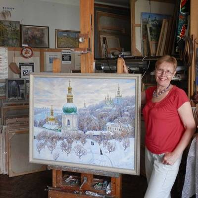 Modern Ukrainian painter Kyrylenko-Barannikova Halyna. Buy paintings